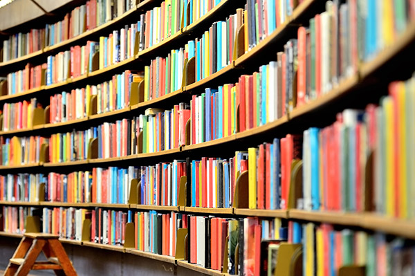 Wealth of knowledge found in books